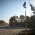 Solar street light in Badghis provinces, Afghanistan